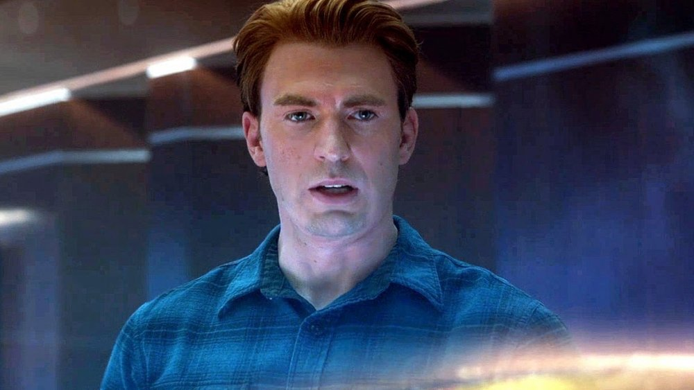 Chris Evans as Captain America/Steve Rogers in Avengers: Endgame