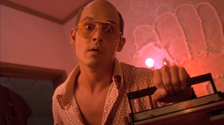 Johnny Depp as Raul Duke in Fear and Loathing in Las Vegas