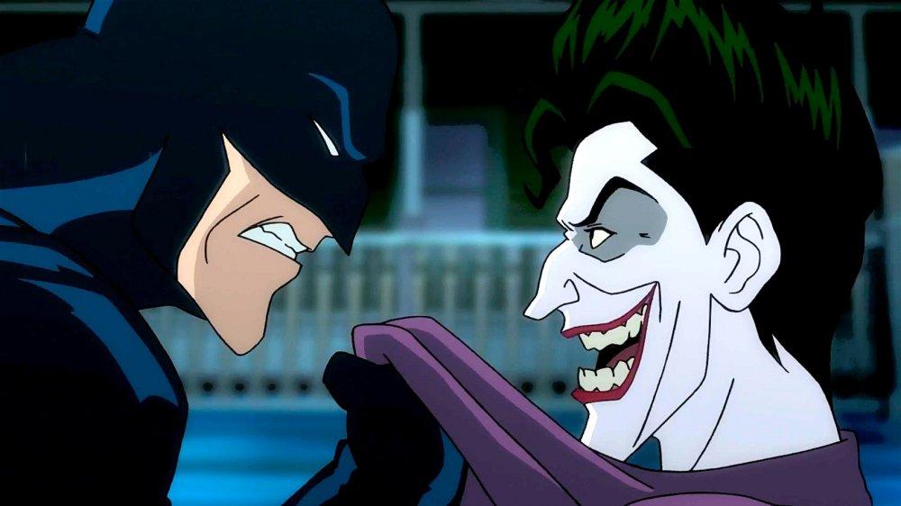 Kevin Conroy and Mark Hamill as Batman and The Joker in Batman: The Killing Joke