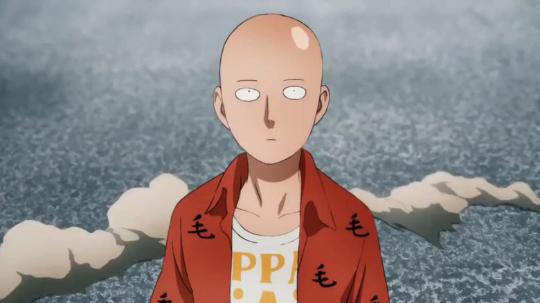 One Punch Man, the animated verson