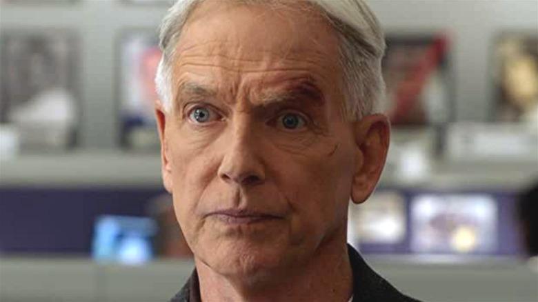 NCIS Gibbs shocked face