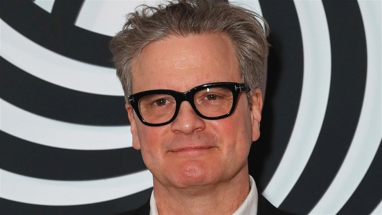 Colin Firth thick-rimmed glasses