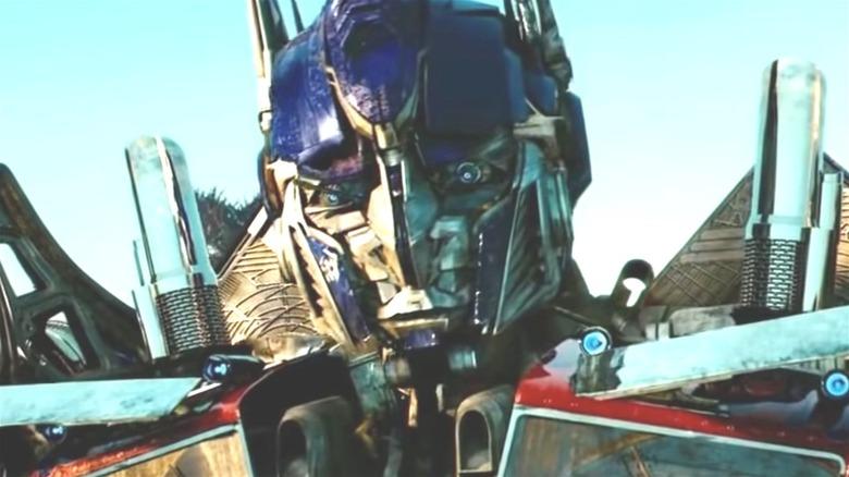 Optimus Prime closeup