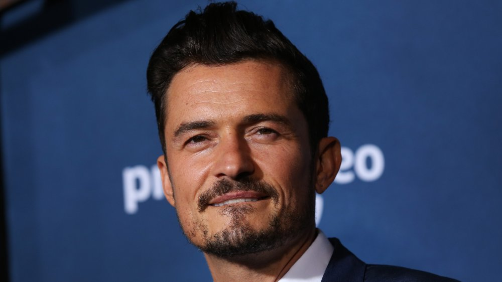 """Orlando Bloom attends the LA premiere of Amazon's """"Carnival Row"""" at TCL Chinese Theatre"""