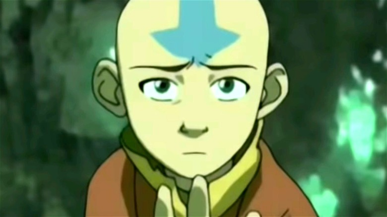 Aang looks dejected