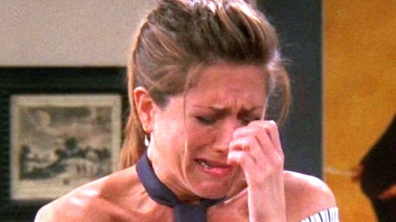 Rachel Greene crying