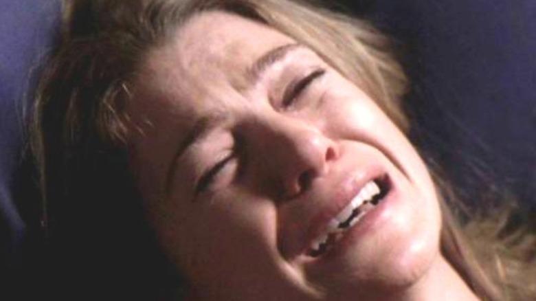 Meredith Grey in grief