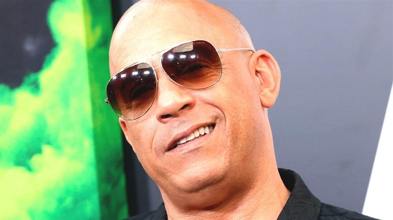 Vin Diesel smiling