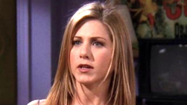 Rachel in her apartment