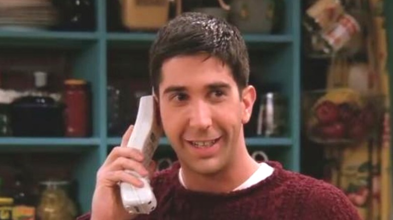 Ross smiling on Friends