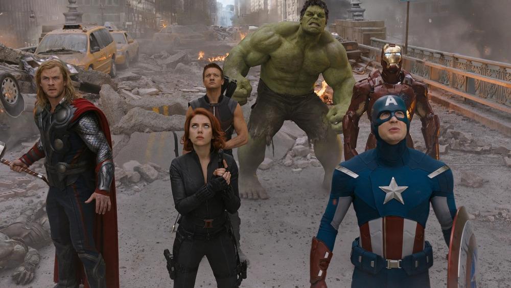 Original Avengers staring
