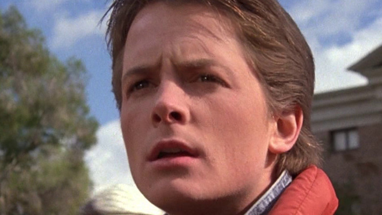 Marty McFly michael j fox