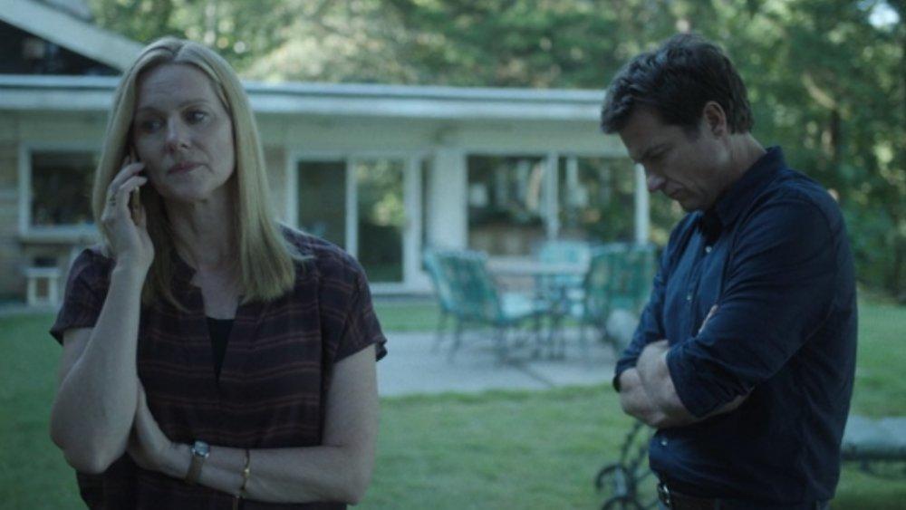 Laura Linney and Jason Bateman on Ozark season 3