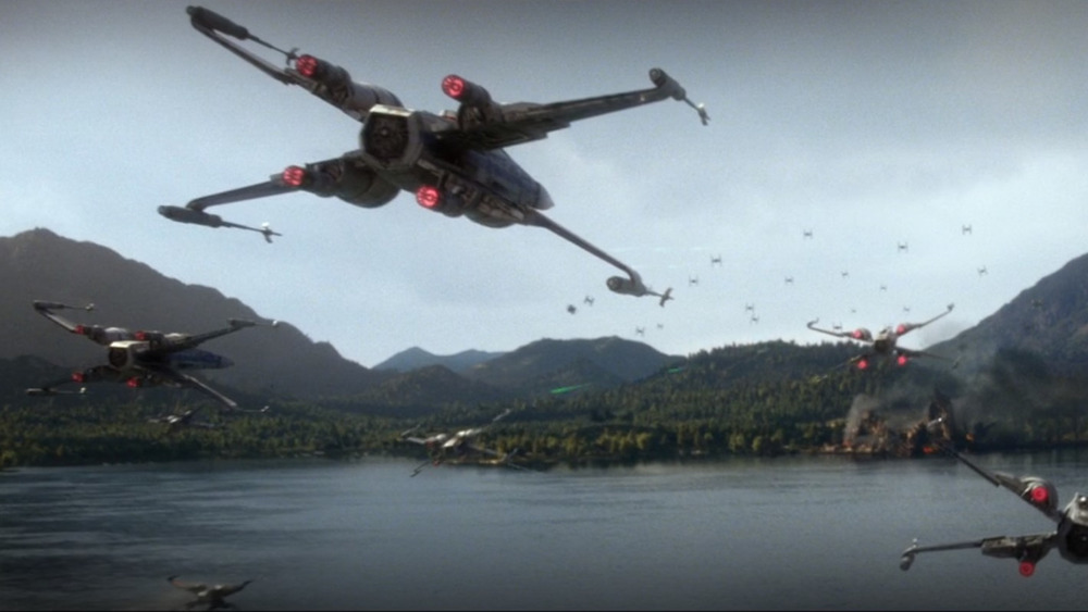 X-Wings in Star Wars: The Force Awakens