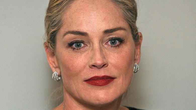 Sharon Stone serious