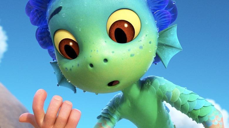 Luca (Jacob Tremblay) in Pixar film Luca