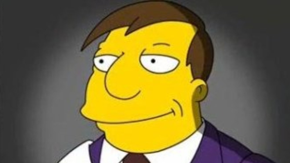 Mayor Quimby in The Simpsons
