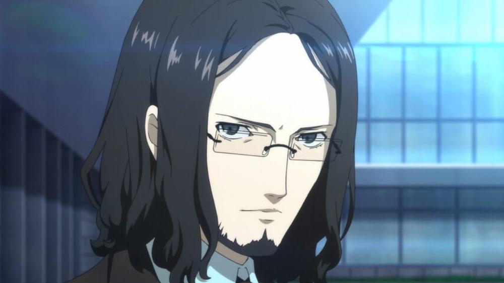 Zenkichi scowling