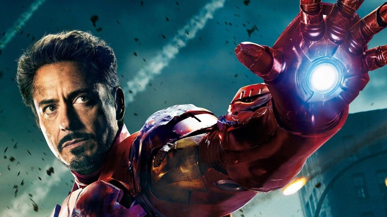 Robert Downey Jr. as Iron Man
