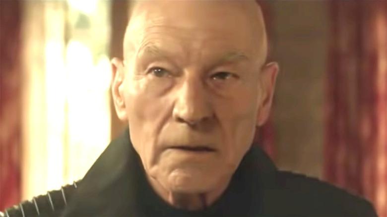 Star Trek Picard Concerned Face