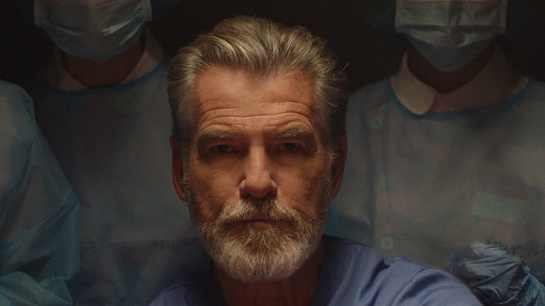 Pierce Brosnan Dr. Hindle delivers baby
