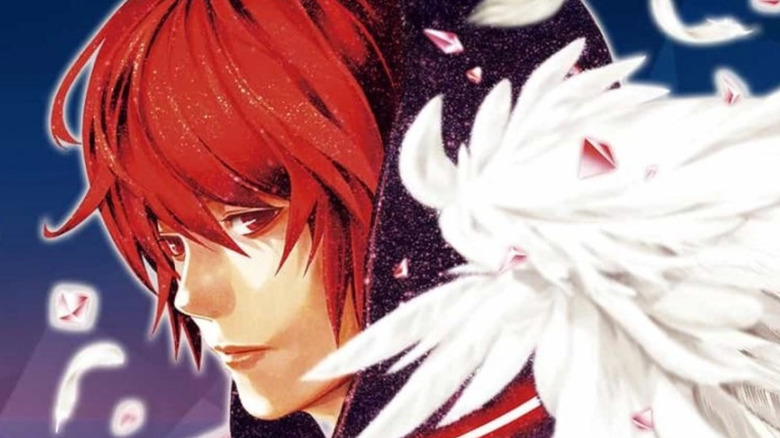 Mirai as seen in the Platinum End manga
