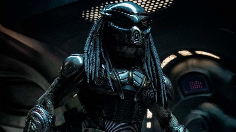 Predator in spaceship