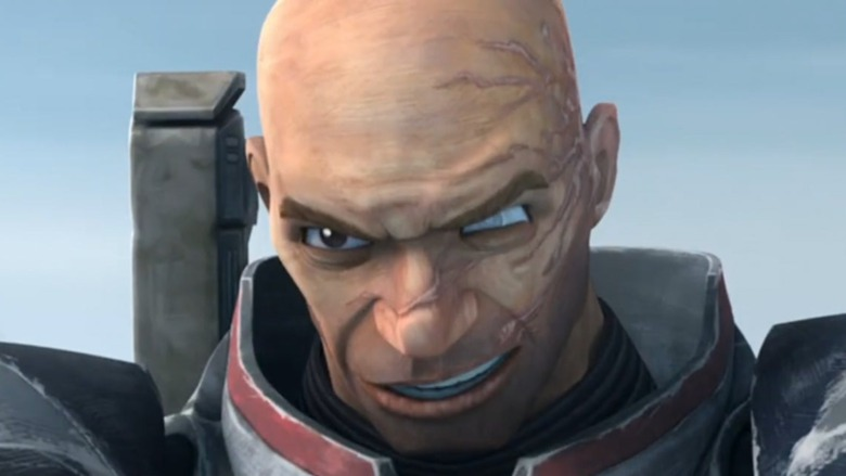 The Bad Batch's Wrecker smirks
