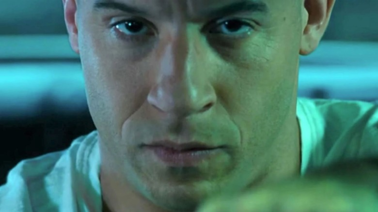 Dom Toretto driving