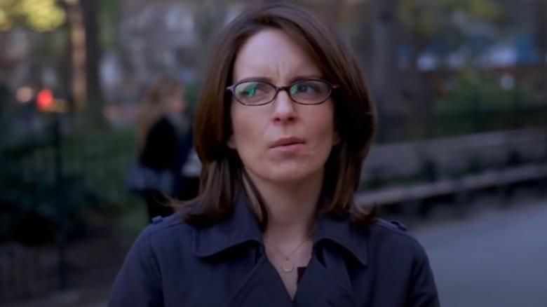 Liz Lemon looking skeptical