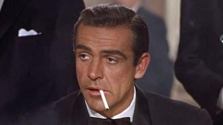 Dr. No James Bond casino smoking