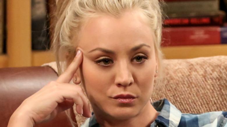 Big Bang Theory Penny frowning