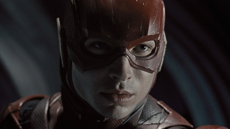 The Flash prepares to run