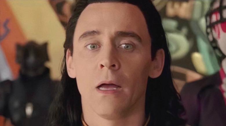 Loki confused