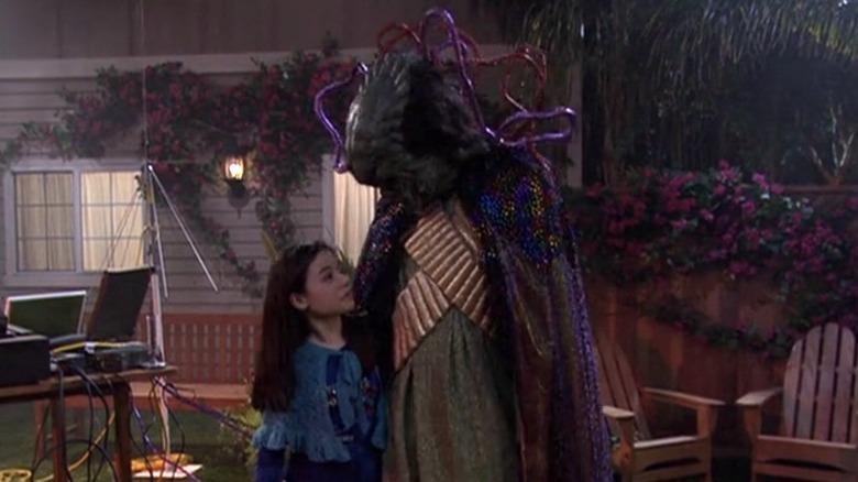 Megan and an alien