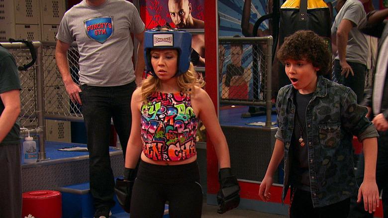 Sam and Dice at boxing ring