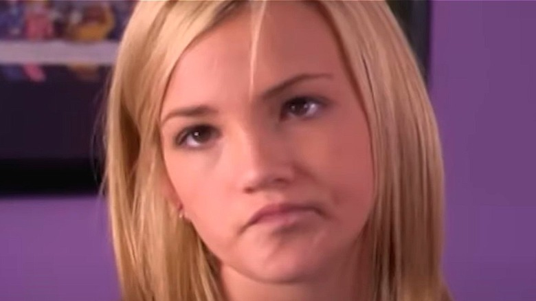 "Zoey grimaces in ""Zoey 101"""