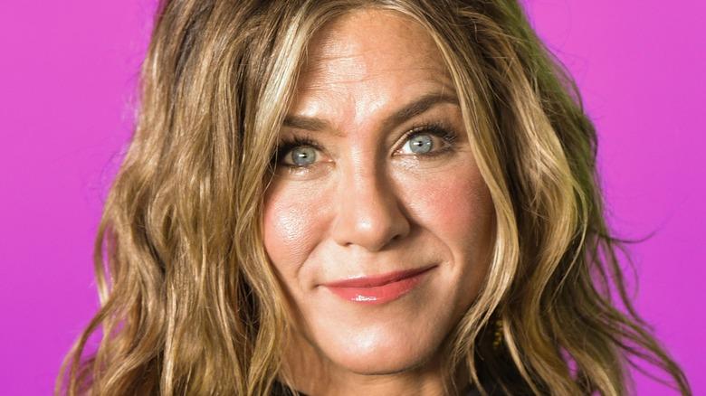Jennifer Aniston close-up