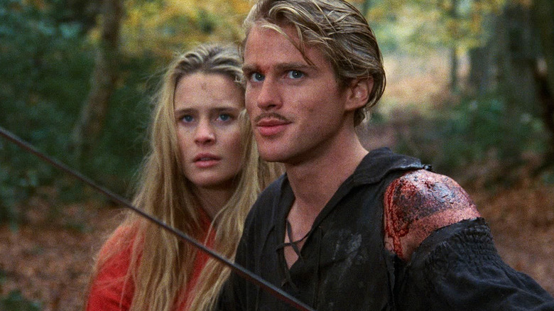 Cary Elwes and Robin Wright in The Princess Bride