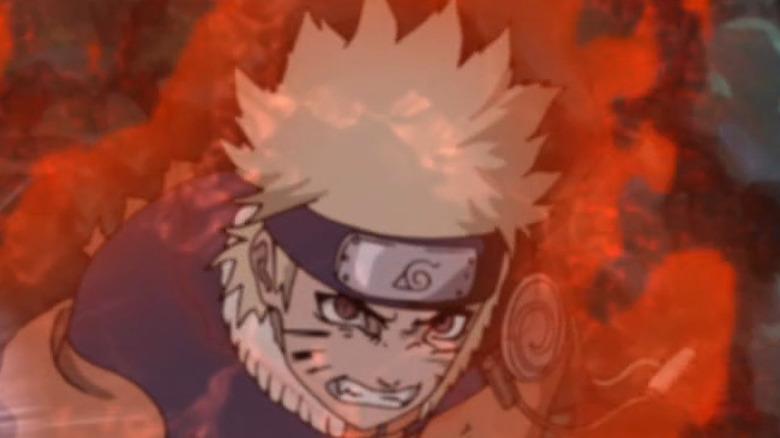 Naruto and the Nine-Tales make a fierce team