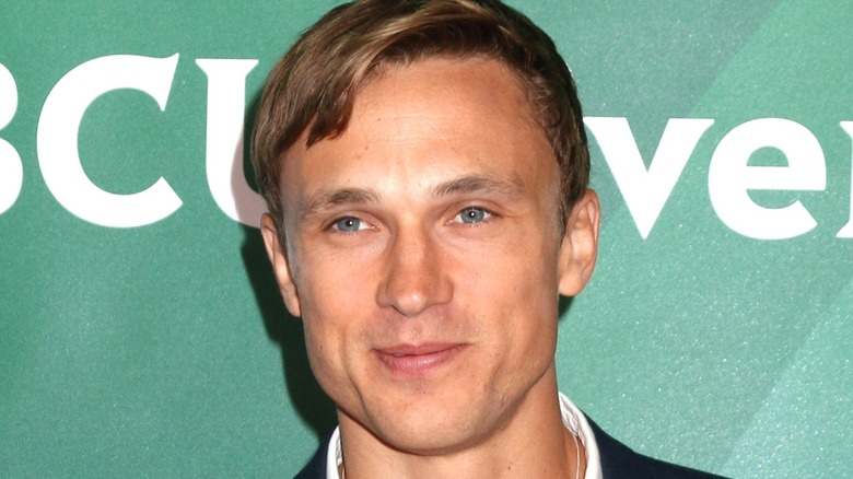 William Moseley green background NBCUniversal