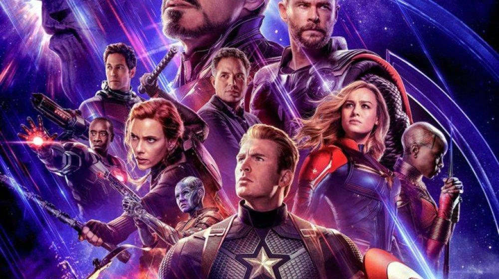 promotional art from Avengers: Endgame