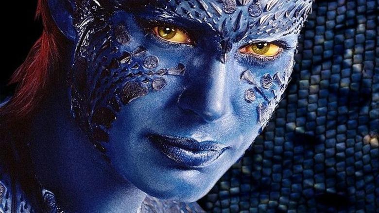 Rebecca Romijn as Mystique in 'X-Men'
