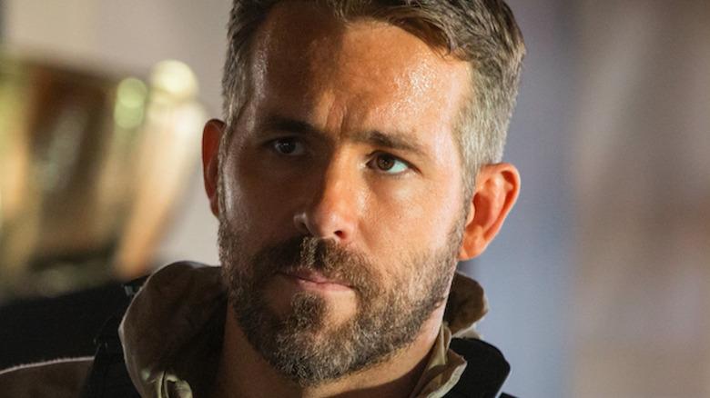 Ryan Reynolds with a beard