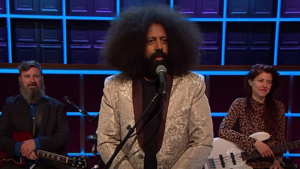 Reggie Watts on The Late Late Show