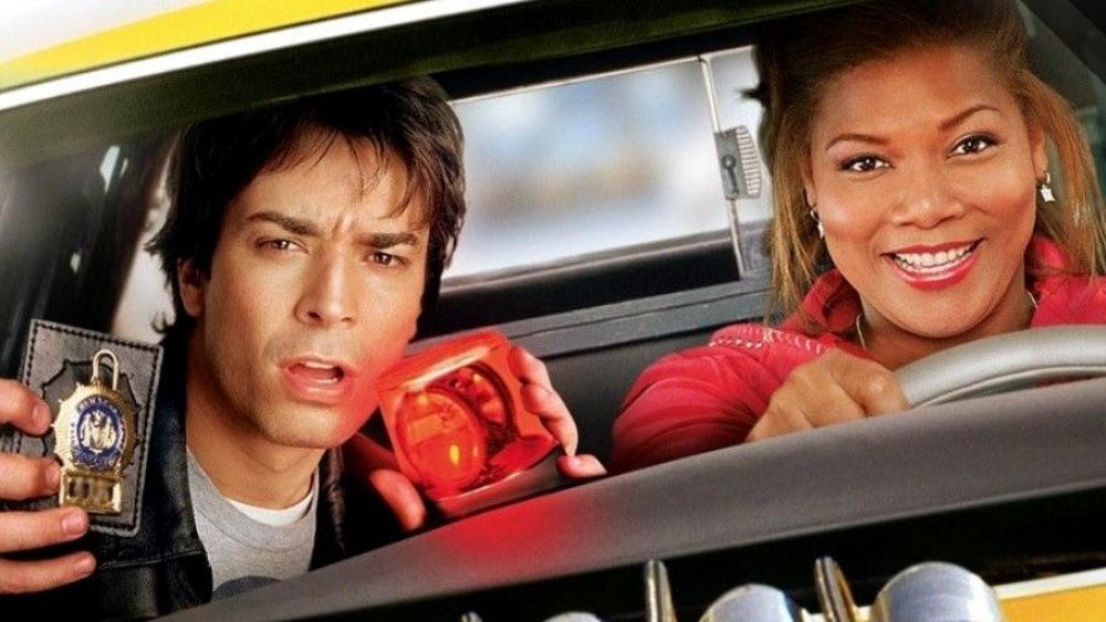 Jimmy Fallon and Queen Latifah in Taxi