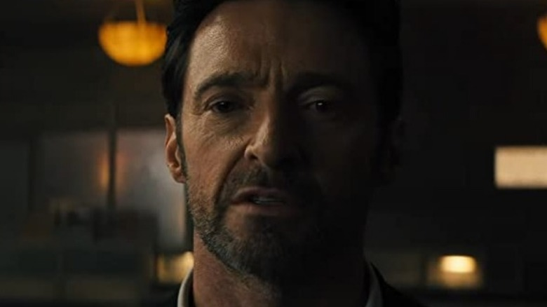 Hugh Jackman as Nick Bannister in Reminiscence