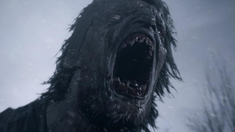 resident evil 8 lycan roar, resident evil village lycan roar