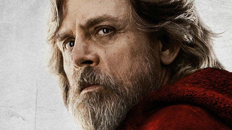 Mark Hamill as Luke Skywalker in The Last Jedi