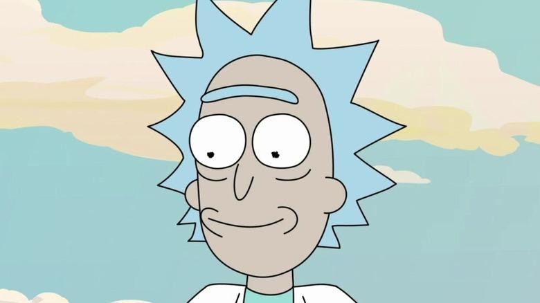 Rick smiling outside